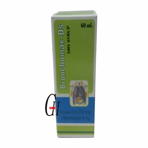 Factory Price Antibacterial Drugs - Amoxicillin & Bromhexine Dry Syrup – G-House