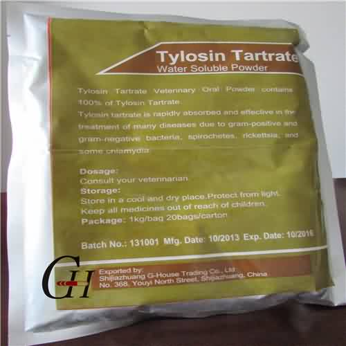 Tylosin Tartrate Water Soluble Powder