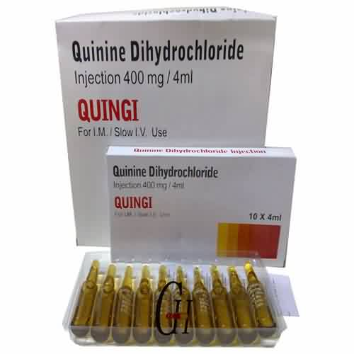 Quinine Dihydrochloride Injection BP