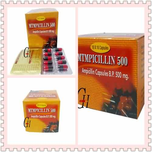Ampicillin 500mg Dosage for Adults