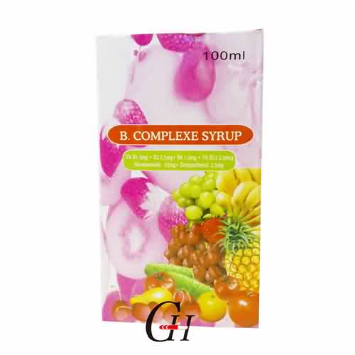 China Cheap price L-proline Food Grade - B Complexe Syrup 100ml – G-House