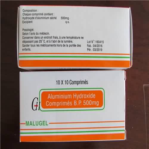 Aluminum Hydroxide Tablets BP