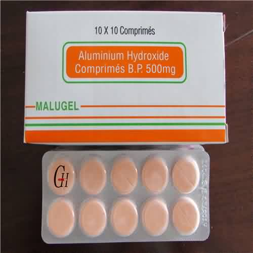 Aluminum Hydroxide Tablets BP 500mg