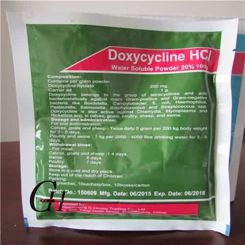 Doxycycline HCL Water Soluble Powder 20%