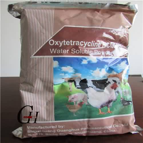 Oxytetracycline HCL 50% Soluble Powder