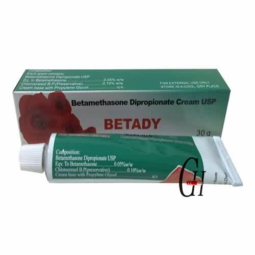 Betamethasone dipropionate ຄີມ USP 30 ກໍາ