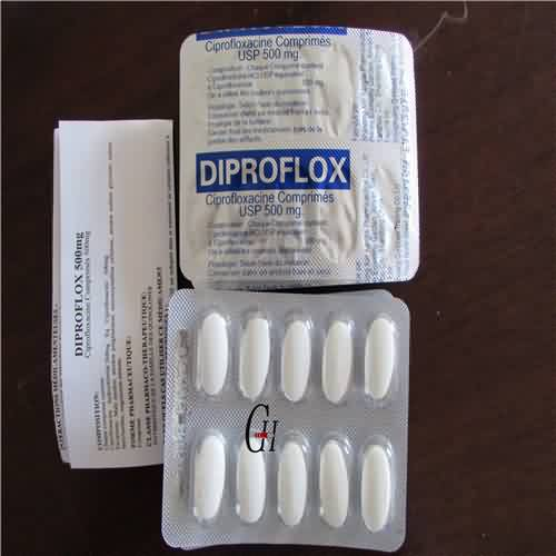 Ciprofloxacin Tablets 500mg USP