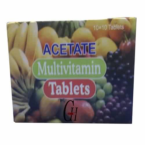 Acetate Multivitamin Tablets
