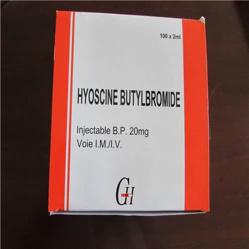Hyoscine Butylbromide Injection BP 20mg/2ml