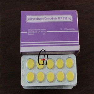 Antiparasitic Metronidazole Tablets
