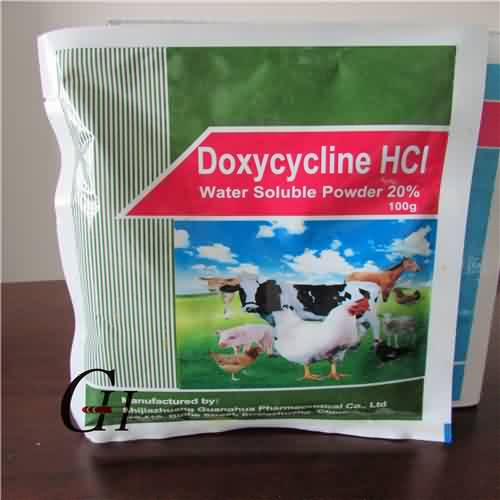 Doxycycline HCL Soluble Powder 20%