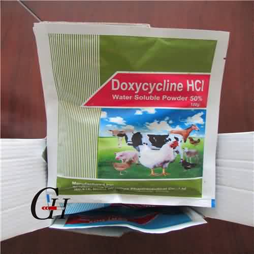 Doxycycline HCL mmiri soluble Powder 50%
