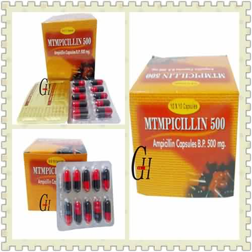 Ampicillin 500 mg Dosage