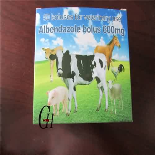 Albendazole Bolus 600 Mg for Veterinary