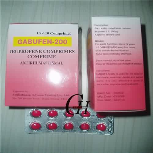 Ibuprofen Tablets BP 200mg
