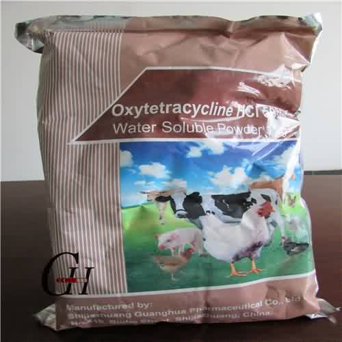 Oxytetracycline HCL 50% Water Soluble Powder