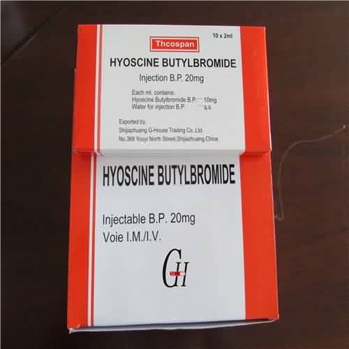 Hyoscine Butylbromide Injection BP
