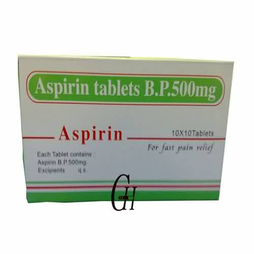 Aspirin Tablets 500mg
