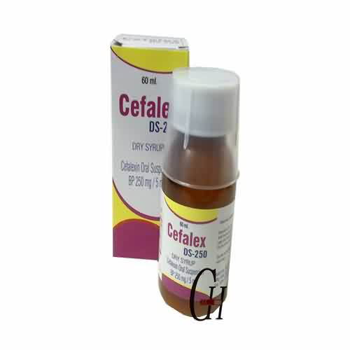 Cefalexin Suspension 250mg/5ml