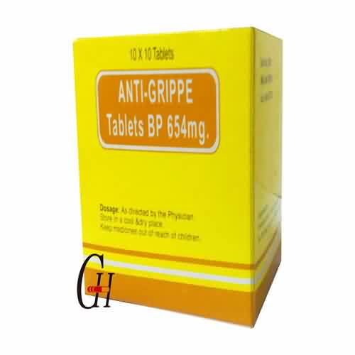 Anti-Grippe Tablets BP