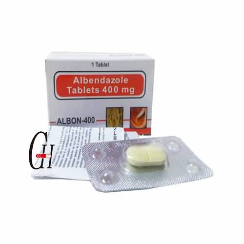 Albendasool tablette 400mg