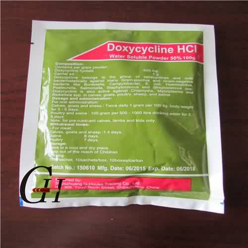 Doxycycline HCL Larut Air Powder 50%