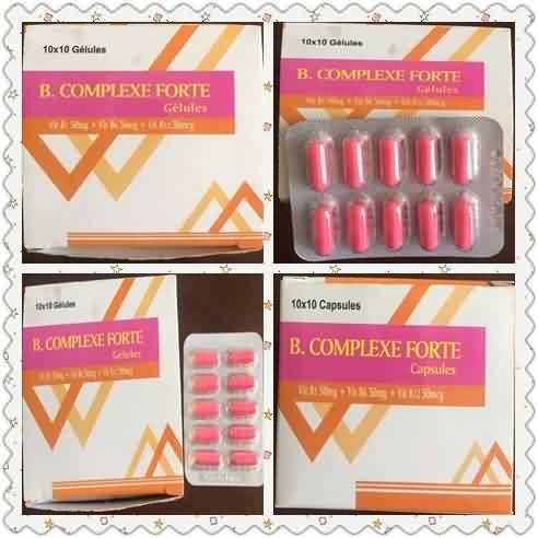 Forte Vitamin B Complex Capsules Featured Image