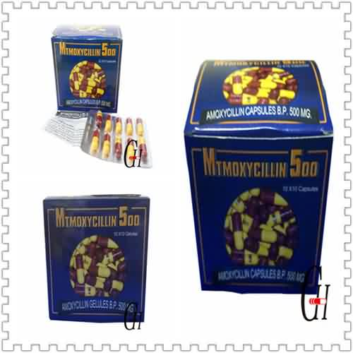 Amoxicillin 500mg Dosage Capsules