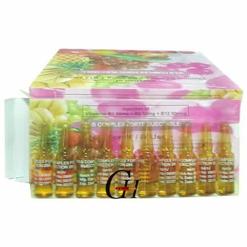 China Manufacturer for Injectable Ivermectin - Vitamin B Complex Injection BP – G-House
