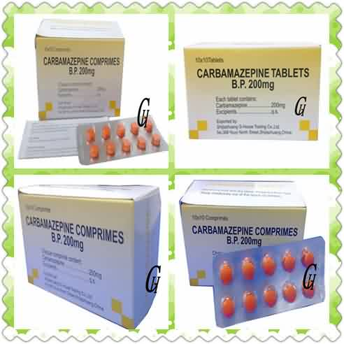 Antiepilepsy Carbamazepine Tablets 200 mg