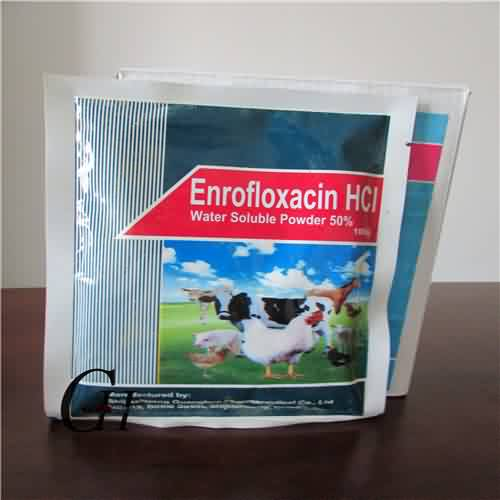 Enrofloxacin HCL Larut Air Powder