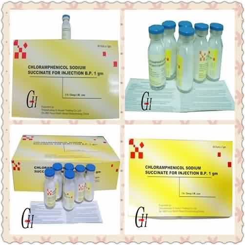 Antibiotics Chloramphenicol Sodium Succinate for Injection