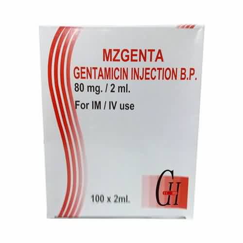 Gentamicin Injection 80mg/2ml