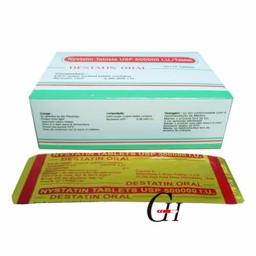 Reasonable price for High Quality Dronedarone Hydrochloride - Nystatin Tablets USP 500000 I.U./Tablet – G-House